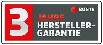 Buente 3 Jahre Garantie Logo